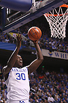 UK forward Julius Randle takes a short jump shot during the second half of the University of Kentucky men's basketball game vs. Boise State at Rupp Arena in Lexington, Ky., on Tuesday, December, 10, 2013. UK won 70-55. Photo by Jonathan Krueger | Staff