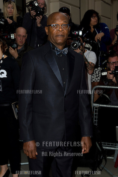 Samuel L Jackson at the 2015 GQ Men of the Year Awards at the Royal Opera House, Covent Garden, London.<br /> September 8, 2015  London, UK<br /> Picture: Dave Norton / Featureflash
