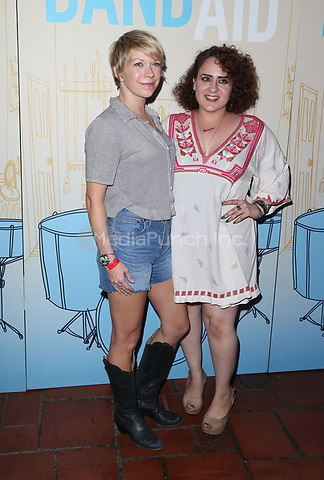 LOS ANGELES, CA - MAY 30: Mary Elizabeth Ellis, Artemis Pebdani, at LOS ANGELES PREMIERE OF BAND AID at The Theatre at Ace Hotel in The Theatre at Ace Hotel, California on May 30, 2017. Credit: Faye Sadou/MediaPunch
