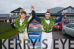 Winners<br /> ---------<br /> Shane Buckley,Faha,Killarney (Rt)  successfully navigated Declan Cronin,Ballylickey,Co Cork in a Subaru WRC to win the Kerry Motor Club's Mini Stages Rally sponsored and based in Banna Beach Resort last Sunday.