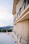 Escuela-Hogar. Morella. Miralles y Pinos Architects