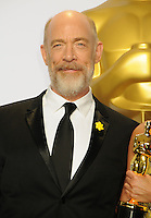 28 February 2016 - Hollywood, California - J. K. Simmons. 88th Annual Academy Awards presented by the Academy of Motion Picture Arts and Sciences held at Hollywood & Highland Center. Photo Credit: Byron Purvis/AdMedia