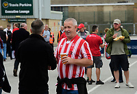 Lincoln City fans enjoy the pre-match atmosphere in the fan zone<br /> <br /> Photographer Chris Vaughan/CameraSport<br /> <br /> The EFL Sky Bet League One - Lincoln City v Fleetwood Town - Saturday 31st August 2019 - Sincil Bank - Lincoln<br /> <br /> World Copyright © 2019 CameraSport. All rights reserved. 43 Linden Ave. Countesthorpe. Leicester. England. LE8 5PG - Tel: +44 (0) 116 277 4147 - admin@camerasport.com - www.camerasport.com