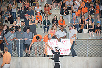 Occidental College football plays against Pomona-Pitzer during Family Weekend & Homecoming, Oct. 22, 2016 in Jack Kemp Stadium.<br /> (Photo by Marc Campos, Occidental College Photographer)