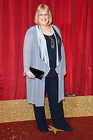 Annie Wallace<br /> arrives for the British Soap Awards 2016 at Hackney Empire, London.<br /> <br /> <br /> &copy;Ash Knotek  D3124  28/05/2016