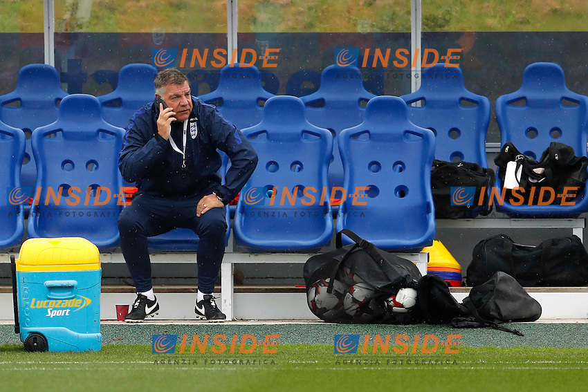 Britain Football Soccer - England Training - St George's Park - 3/9/16<br /> England manager Sam Allardyce during training<br /> Foto Panoramic / Insidefoto <br /> ITALY ONLY