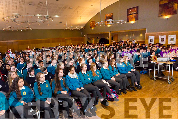 At the Transition Year St Brendan's Tenth annual Parish Day at Ballyroe Heights Hotel on Tuesday