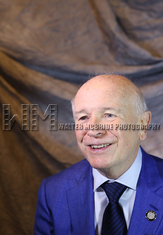 Terrence McNally attends the 2015 Tony Awards Meet The Nominees Press Junket at the Paramount Hotel on April 29, 2015 in New York City.