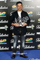 Alejandro Sanz attends 40 Principales awards photocall of winners  2012 at Palacio de los Deportes in Madrid, Spain. January 25, 2013. (ALTERPHOTOS/Caro Marin) /NortePhoto