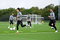 Yan Dhanda of Swansea City in action during the Swansea City Training Session at The Fairwood Training Ground, Wales, UK. Tuesday 11th September 2018