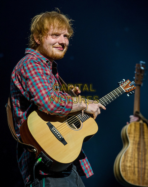LAS VEGAS, NV - August 29: Ed Sheeran performs at The Chelsea at The Cosmopolitan pf Las Vegas in Las Vegas, NV on August 29, 2014.  <br /> CAP/MPI/RTNKabik<br /> &copy;RTNKabik/MediaPunch/Capital Pictures