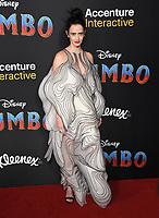 "11 March 2019 - Hollywood, California - Eva Green. ""Dumbo"" Los Angeles Premiere held at Ray Dolby Ballroom. Photo Credit: Birdie Thompson/AdMedia"