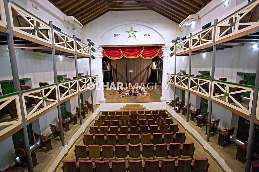 Teatro da Ribeira dos Icós na cidade de Icos. Ceara. 2014. Foto de Olga Leiria.