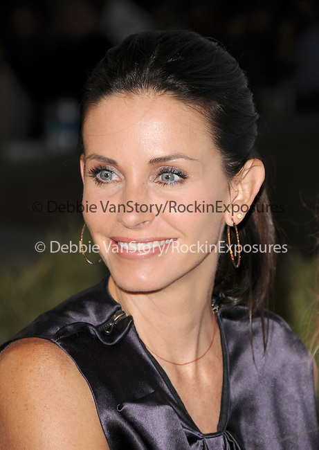 """Courteney Cox Arquette at The Opening Night  LA SHORTS FEST '09.featuring Scarlett Johansson's directorial debut: THESE VAGABOND""""S SHOES World Premiere & Courteney Cox's directorial debut: THE MONDAY BEFORE THANKSGIVING held at The Laemmle's Sunset 5 Theatre in West Hollywood, California on July 23,2009                                                                   Copyright 2009 DVS / RockinExposures"""