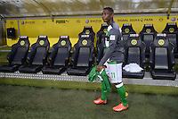 FUSSBALL  1. BUNDESLIGA  SAISON 2013/2014   3. SPIELTAG Borussia Dortmund - Werder Bremen                  23.08.2013 Eljero Elia (SV Werder Bremen) auf dem Weg zu seinem Platz auf der Ersatzbank