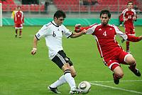 Matthias Zimmerman (D, Karlsruher SC) gegen Jonathan Ferreira Silva (AND)