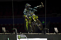 FMX / Blake 'Bilko' Williams<br /> Monster Energy Aus-XOpen<br /> Supercross &amp; FMX International<br /> Qudos Bank Arena, Olympic Park NSW<br /> Sydney AUS Sunday 12  November 2017. <br /> &copy; Sport the library / Jeff Crow