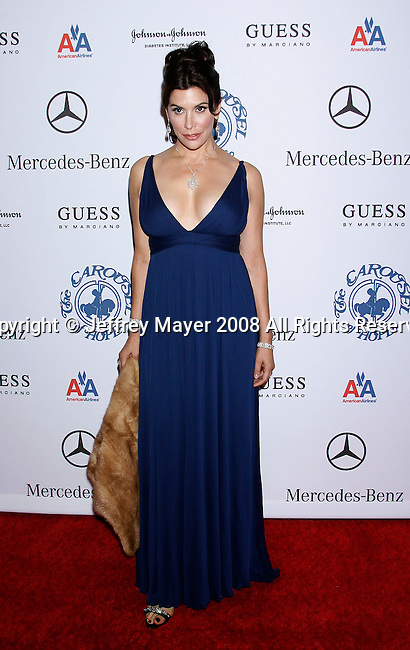 BEVERLY HILLS, CA. - October 25: Actress Jo Champa arrives at The 30th Anniversary Carousel Of Hope Ball at The Beverly Hilton Hotel on October 25, 2008 in Beverly Hills, California.