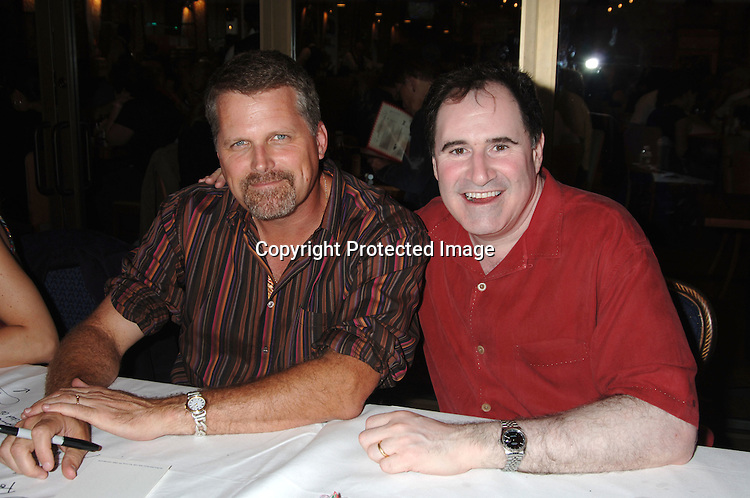 Robert Newman and Richard Kind..at The 20th Annual Broadway Cares/Equity Fights Aids Broadway Flea Market, Celebrity Autograph Table and Grand Auction on September 24, 2006 at Shubert Alley...Robin Platzer, Twin Images