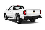 Car pictures of rear three quarter view of 2016 Chevrolet Silverado 1500 1WT Regular Cab Long Box 3 Door Pick-up Angular Rear