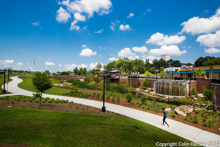 Nearly 2.5 miles of paved trails weave their way through Cascades Park in downtown Tallahassee.<br /> <br /> COLIN HACKLEY PHOTO