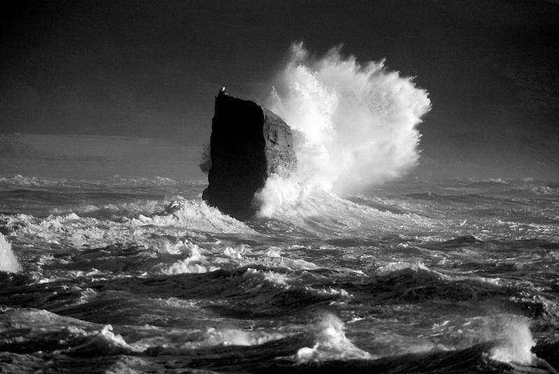 Crashing wave at Cape Kiwanda, Oregon
