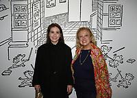Anne GOSCINNY, Carole WEISWEILLER - Vernissage de l'exposition Goscinny - La Cinematheque francaise 02 octobre 2017 - Paris - France