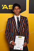 Boys Hockey winner Jared Panchia from Kings College. ASB College Sport Young Sportsperson of the Year Awards held at Eden Park, Auckland, on November 24th 2011.