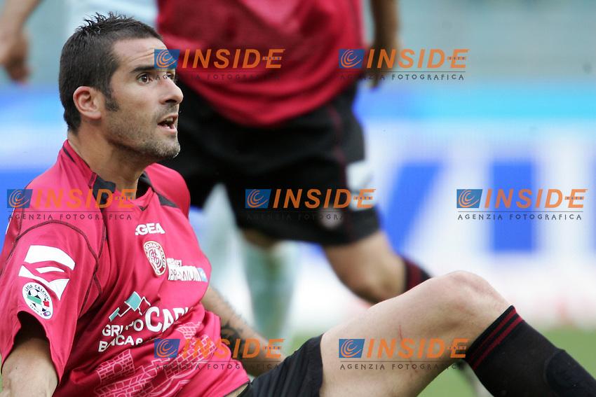 Cristiano Lucarelli (Livorno)<br /> Italian &quot;Serie A&quot; 2006-07 <br /> 6 May 2007 (Match Day 35)<br /> Lazio-Livorno (1-0)<br /> &quot;Olimpico&quot; Stadium-Roma-Italy<br /> Photographer Andrea Staccioli INSIDE