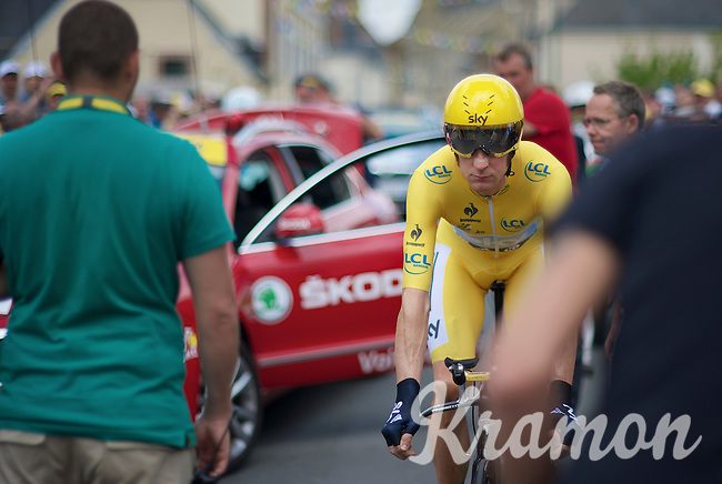 Tour de France 2012.stage 19: ITT .Bonneval - Chartres.53km.
