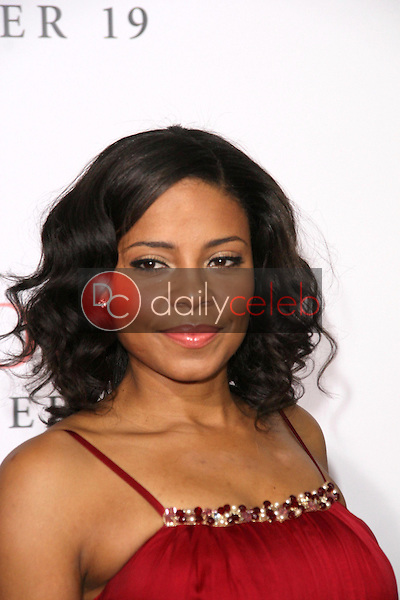 Sanaa Lathan <br /> at the Los Angeles Premiere of 'Seven Pounds'. Mann Village Theatre, Westwood, CA. 12-16-08<br /> Dave Edwards/DailyCeleb.com 818-249-4998