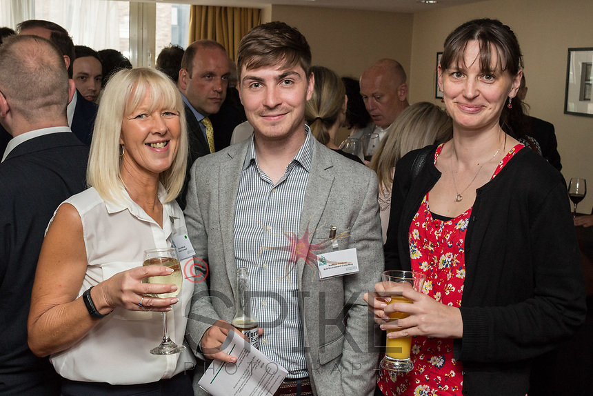 Pictured from left are Bryony Withnall of Turner & Townsend, Matthew Faulkner of Built Environment Consulting and Kate Williams of Turner & Townsend