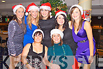 FESTIVE FUN: The staff on the Childsplay Creche, Sackville, Ardfert having great fun at their Christmas party at the Kingdom Greyhound Stadium on Friday seated l-r: Stephanie Sheehan and Debbie Sheehan. Catherine Moriarty, Leona Hussey, Theresa Hussey Theresa Culloty, Nicki Sheehan and Nichola Baker.