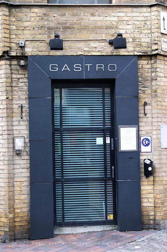 Gastronomic restaurant Gastro on Bruksgatan. Helsingborg, Skane, Scania. Sweden, Europe.