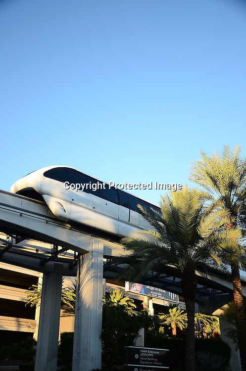 Royalty Free Photo of Monorail train