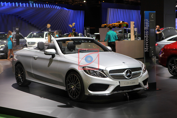 Automobile Barcelona 2017.<br /> Stand Mercedes.