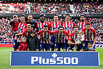 Players of Atletico de Madrid line up and pose for photos prior to the La Liga 2017-18 match between Atletico de Madrid and Girona FC at Wanda Metropolitano on 20 January 2018 in Madrid, Spain. Photo by Diego Gonzalez / Power Sport Images