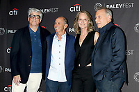 """LOS ANGELES - SEP 7:  Peter Tolan, Barnet Kellman, Helen Hunt, Paul Reiser at the PaleyFest Fall TV Preview - """"Mad About You"""" at the Paley Center for Media on September 7, 2019 in Beverly Hills, CA"""