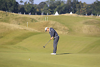 Byeong Hun An (KOR) on the 10th green during Round 2 of the 2015 Alfred Dunhill Links Championship at Kingsbarns in Scotland on 2/10/15.<br /> Picture: Thos Caffrey | Golffile