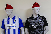 Is it that time of year already or just early decorations ?during Colchester United vs Exeter City, Sky Bet EFL League 2 Football at the JobServe Community Stadium on 24th November 2018