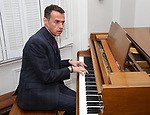 Andrew Lippa during the Dramatists Guild Foundation Salon with Playwright Itamar Moses at the Cryer Residence on December 7, 2017 in New York City.