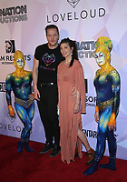08 March 2018 - Las Vegas, NV - KA Cast members, Dan Reynolds, Aja Volkman. Special VIP screening of HBO Documentary film BELIEVER at KA Theatre at MGM Grand.    <br /> CAP/ADM/MJT<br /> &copy; MJT/ADM/Capital Pictures