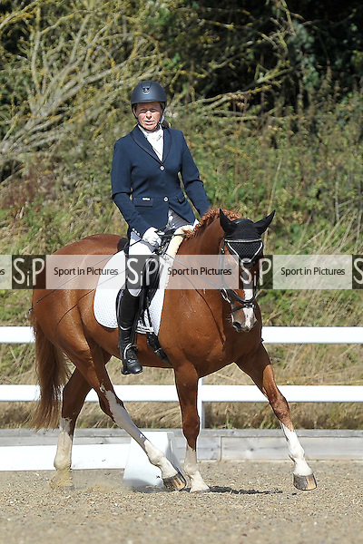 Class 3. British dressage. Brook Farm Training Centre. Essex. 09/09/2016. MANDATORY Credit Garry Bowden/Sportinpictures - NO UNAUTHORISED USE - 07837 394578