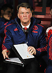 Manchester United Manager Louis van Gaal with his clipboard <br /> - Barclays Premier League - Bournemouth vs Manchester United - Vitality Stadium - Bournemouth - England - 12th December 2015 - Pic Robin Parker/Sportimage