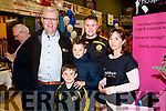 Liam Lynch, Billy Kirby, Daniel Kirby, Will Kirby and Siobhan Stack pictured at the Tralee Enterprise Town Community, Sport and Business Expo at Tralee Sports Complex on Saturday morning last.