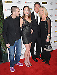 James Driskill,Chloe Lattanzi,Olivia Newton John and John Easterling at G'Day USA LA Black Tie Gala held at The Hollywood Palladium in Hollywood, California on January 22,2011                                                                               © 2010 Hollywood Press Agency
