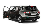 Rear Three Quarter Door View of 2013 Infiniti QX35 / JX35