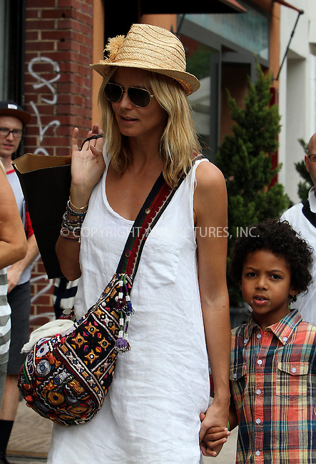 WWW.ACEPIXS.COM . . . . .  ....July 14 2012, New York City....TV personality Heidi Klum took her kids for a walk around Soho on July 14 2012 in New York City....Please byline: NANCY RIVERA- ACEPIXS.COM.... *** ***..Ace Pictures, Inc:  ..Tel: 646 769 0430..e-mail: info@acepixs.com..web: http://www.acepixs.com