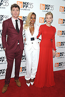 "NEW YORK, NY - OCTOBER 12: Garrett Hedlund, MAry J. Blige and Carey Mulligan attends the 55th NYFF World Premiere of ""Mudbound"" at Alice Tully Hall on October 12, 2017 in New York City. Photo Credit: John Palmer/MediaPunch"