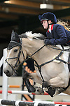 Class 3. Discovery. British Showjumping juniors. Brook Farm training centre. Essex. 07/10/2017. MANDATORY Credit Garry Bowden/Sportinpictures - NO UNAUTHORISED USE - 07837 394578